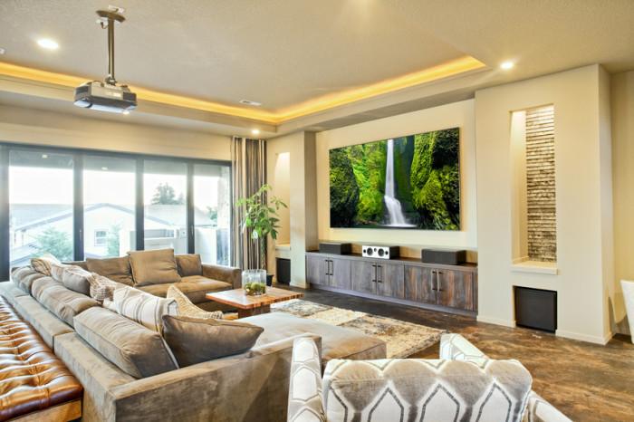 Inteligentny dom - Kino domowe