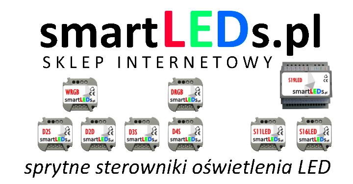 Sklep internetowy smartLEDs. Sprytne sterowniki oświetlenia LED, czujniki ruchu do LED, oświetlenie LED.