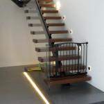 Inteligentne oświetlenie schodów. Sterownik schodowy LED. Inteligentne sterowanie domem. Inteligentny dom Magdalenka