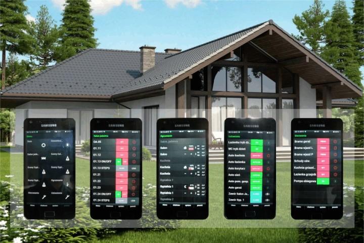Inteligentny Dom. Sterowanie domem przez Homeserver firmy Gira