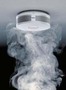 Pożar - czujka dymu Gira