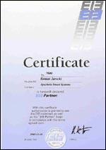 Certyfikat EIB Partner
