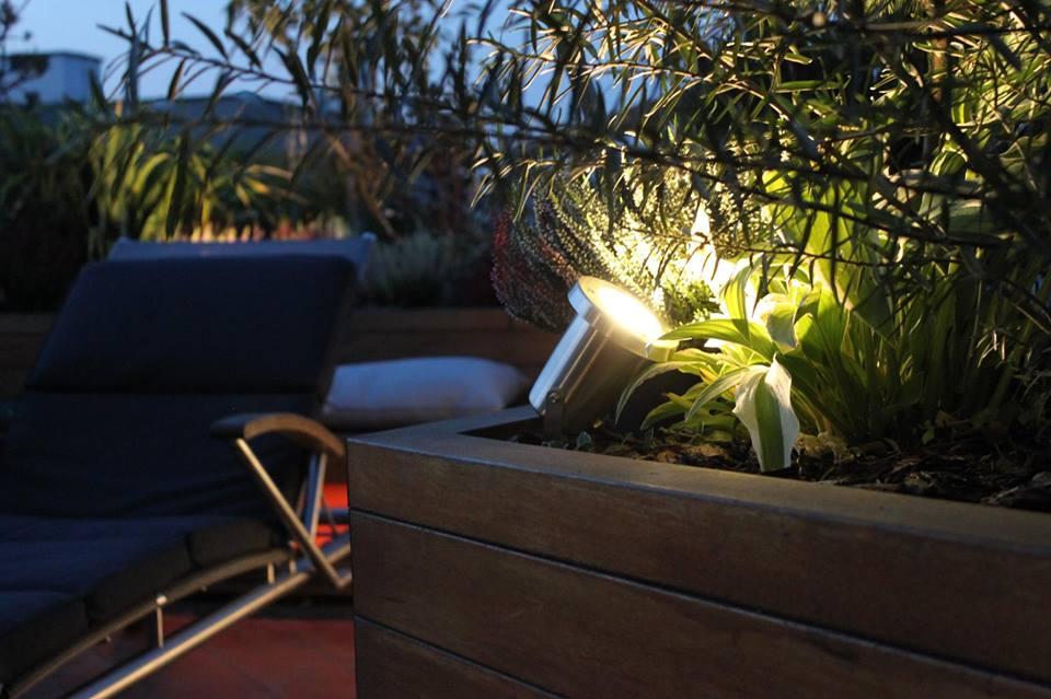 Inteligentne Oświetlenie Led Ogród Na Dachu Apacheta