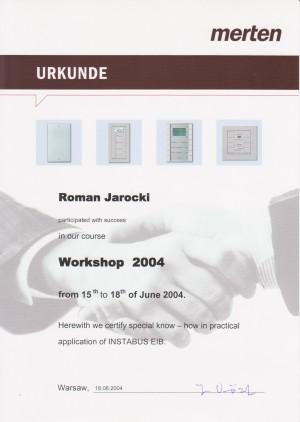 Workshop 2004 (Instabus EIB)
