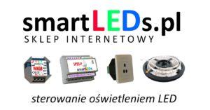 Sklep internetowy smartLEDs.pl. Inteligentne sterowniki oświetlenia LED i RGB.